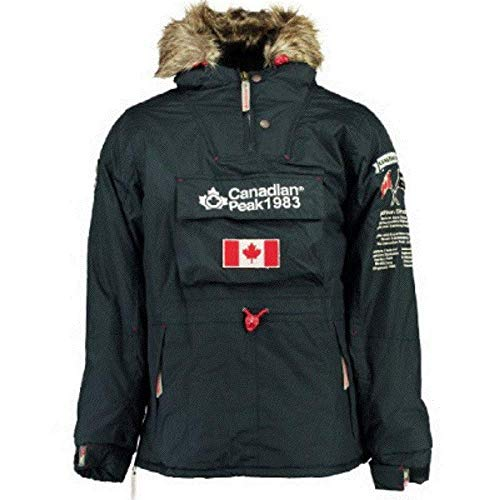 Canadian Peak Herren Mantel, Grün XX-Large