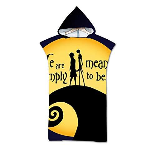 ACC badjas voor volwassenen, sneldrogend, surfen poncho, Wetsuit, reservedeken, uniseks