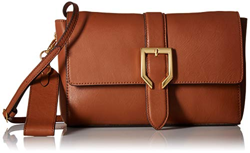 Cole Haan Kayden Leather Crossbody Bag, collection brown