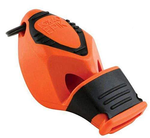 Fox 40 Epik CMG - Silbato de árbitro, color naranja