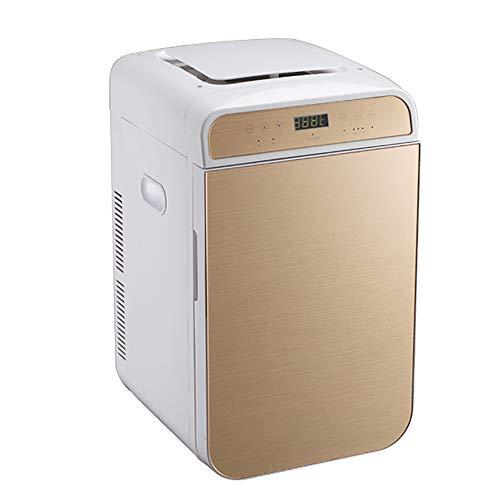 Nevera Coche, Refrigeradores Compactos Mini Refrigerador con Pantalla LCD Termostato Digital Enfriamiento Ideal para Dormitorio Oficina Coche Dormitorio Maquillaje