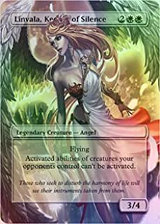 Linvala, Keeper of Silence - Casual Play Only - Customs Altered Art Foil