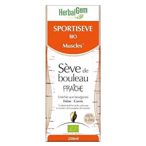 Sportisève Bio | Sève De Bouleau Fraîche | 250ml | Herbalgem