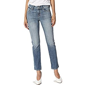 Women's Junior's  Mid Rise Slim Cropped Boot Cut Jeans