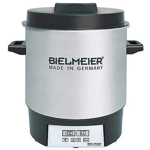 Bielmeier 411000 Einkochautomat Digital aus Edelstahl BHG 411.0