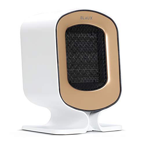 BLAUX HeatCore Pequeño calefactor eléctrico - Perfecto ventilador para la casa | Un calefactor eléctrico de cerámica portátil para la oficina | Calefactor eléctrico portátil con filtro de aire