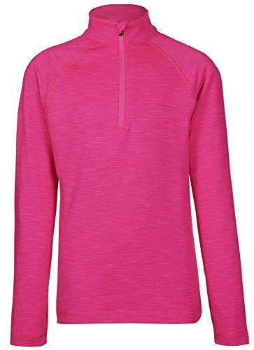 Killtec Funktionsshirt Langarmshirt Ski Stehkragen & Reißverschluß agna Jr 29432 Pink Gr.140