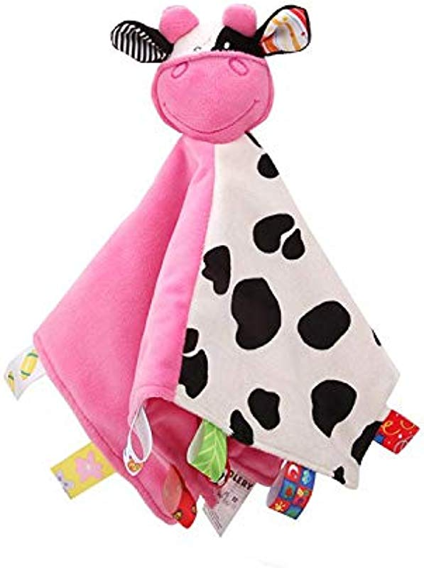 Animal Head Security Blanket With Tags