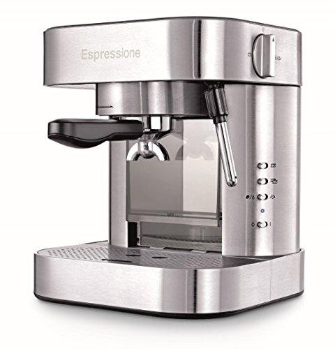 Espressione Stainless Steel Espresso Machine, 1.5 L