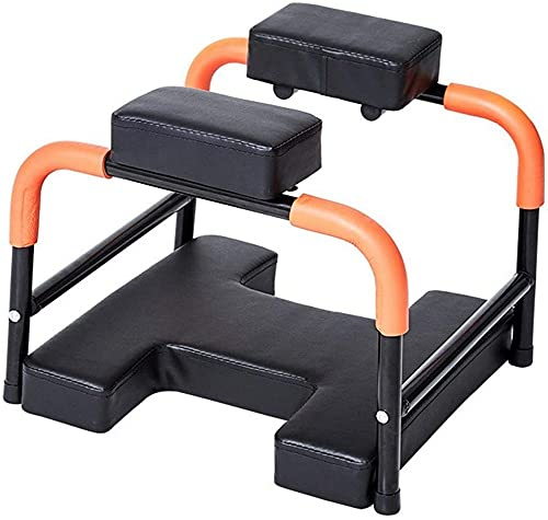 Waqihreu Yoga Headstand Bench, Inverted Auxiliary Stool, Can Support 440 Pounds,...