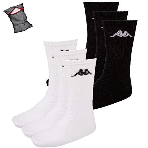 Ziatec Kappa SONOTU Edition - Calcetines de tenis, tiempo libre, calcetines de algodón, multipacks, talla 35 – 46