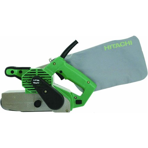 Hitachi SB8V2 9.0 Amp 3-Inch-by-21-Inch Variable Speed Belt Sander with Trigger Lock and Soft Grip Handles (Discontinued by the Manufacturer)