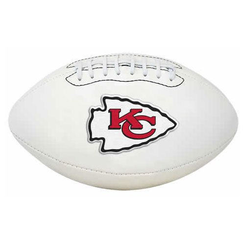 Rawlings NFL Signature Series Fußball Kansas City Chiefs, volle Größe