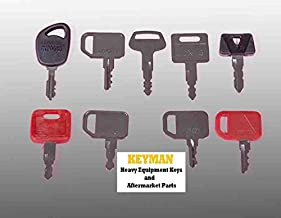 John Deere Heavy Equipment 9 Key Set/Construction Ignition Keys Set