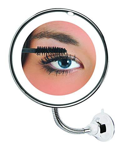 MY FLEXIBLE MIRROR - Espejo Luminoso y de Aumento - Vista en la televisión