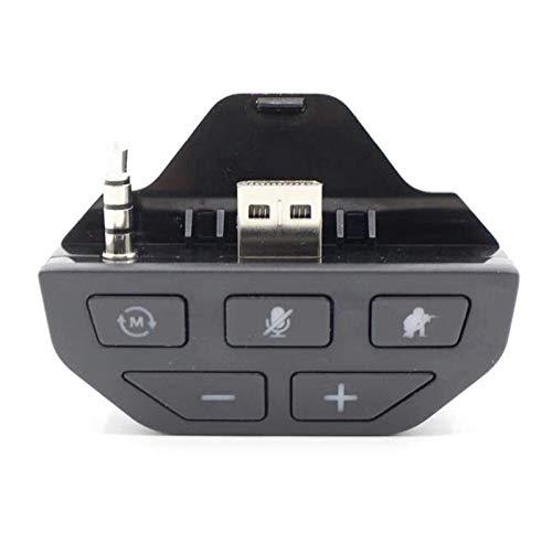 Montloxs Adaptador de Auriculares estéreo Adaptador de Audio para Auriculares Convertidor de Auriculares Compatible con el Controlador de Juegos inalámbrico Microsoft Xbox One