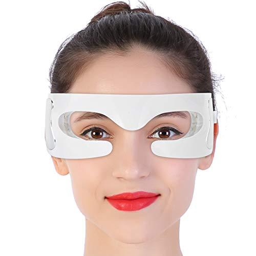 Masajeador de ojos eléctrico, con calor compresión de aire presión masaje vibratorio, Cuidado de los ojos, para aliviar la tensión ocular Ojos, Mejora las arrugas de los ojos