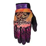 B2BA Clothing leichte Handschuhe Mountain Bike Downhill Enduro Motocross Freeride DH MX MTB BMX Quad Cross, schnelltrocknend, rutschfest und atmungsaktiv, 2020 STARS Orange Lila Sunrise, Größe L