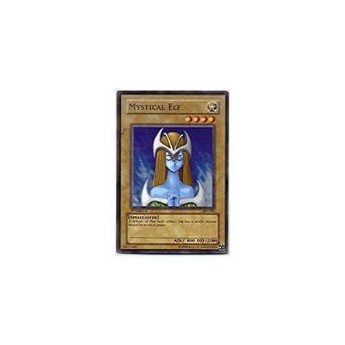 Yu-Gi-Oh! - Mystical Elf (LOB-062) - Legend of Blue Eyes White Dragon - Unlimited Edition - Super Rare