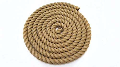 Synthetic Polyhemp Rope 24mm Gardens, Decking, Boating, Camping. (5m) by Cotesi