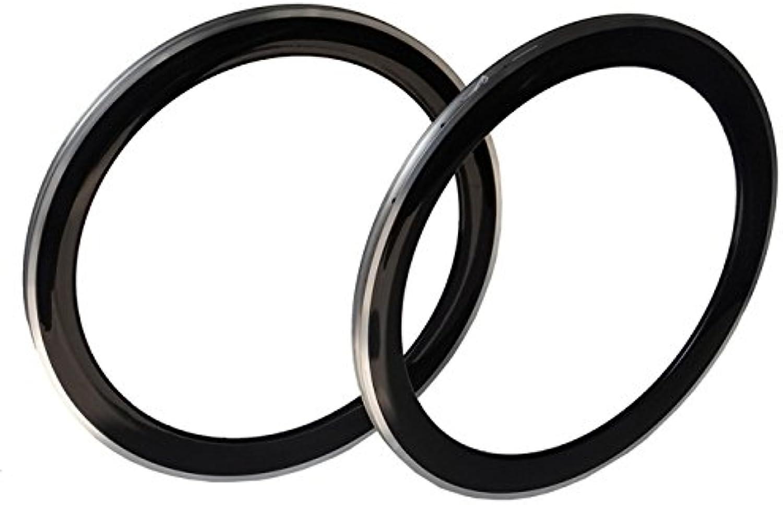 Carbon Cycling Road Bike Clincher Wheel Rim 60mm (Alloy Brake Side)