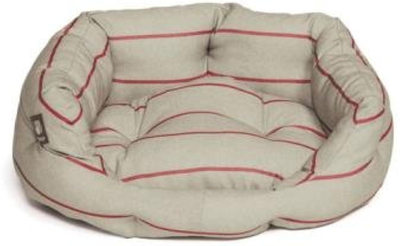 Heritage Herringbone Deluxe Slumber Bed  35 89cm