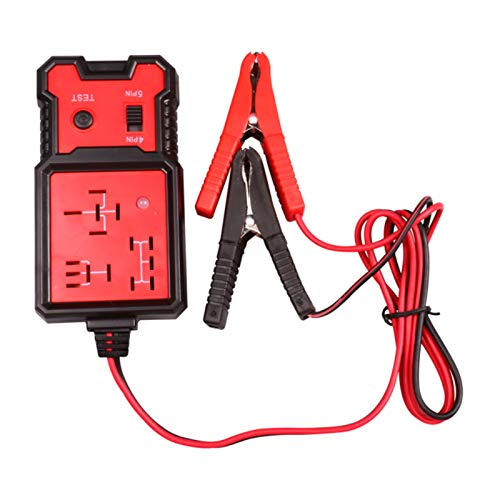 YUOYING 12V Electronic Automotive Relay Tester, Car Battery Diagnostic Checker Tools with Clips Relay Tester Automotive Kit for Auto Repairing