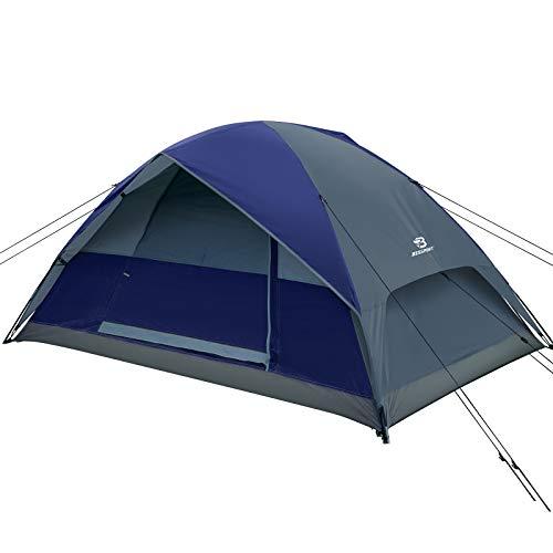 Bessport Zelt 2 Personen wasserdichte kuppelzelt 3 Saison Leichte Rucksack-Zelt für Camping, Wandern im Freien, Klettern, Angeln, Survival, oder Festival