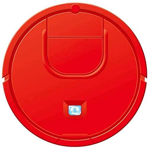 LTLJX Robot de Barrido Mini Smart Sweeping Robot 2 en 1 Casa Perezosa Multifunción Vacuumas secas en seco Rojo-Negro LUDEQUAN (Color : Red)