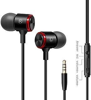 Auriculares In Ear Headphone ATOMZONE Auriculares de Musica Audífonos Súper Bass con Micrófono Auricular con Cancelación de Ruido para Xiaomi Samsung Huawei HTC iphone