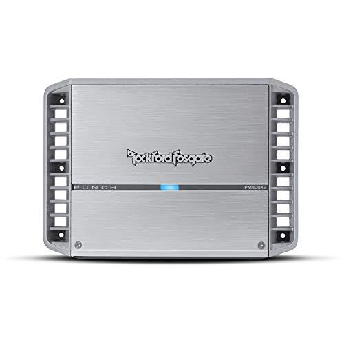 Rockford Fosgate PM400X2 Punch Marine - Amplificador de 2 canales (400 W)