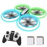 AVIALOGIC Q9s Drone per Bambini,Elicottero Telecomandato con Luci Blu...