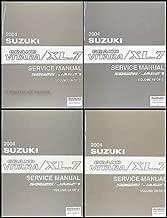 2004 Suzuki Grand Vitara & XL-7 Repair Shop Manual 4 Volume Set Original