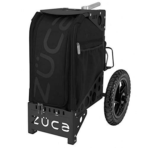 Zuca Sac à roulettes d'extérieur avec siège intégré Noir/noir