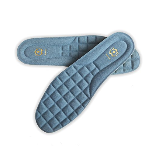 Wnnideo Full Length Thick Memory Foam Shoes Insert with Arch Support -...
