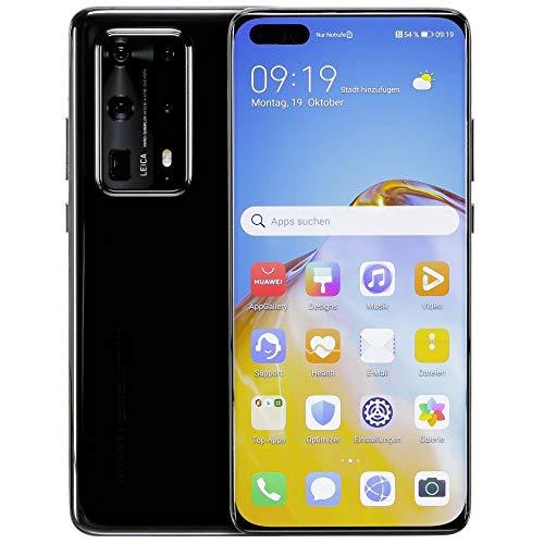 Huawei P40 Pro Plus 5G Dual SIM Smartphone (512 GB Storage, 8 GB RAM), Android 10 AOSP (NO Google PLAYSTORE), EMUI 10.1. Global ROM ELS-N39 - Ceramic Black