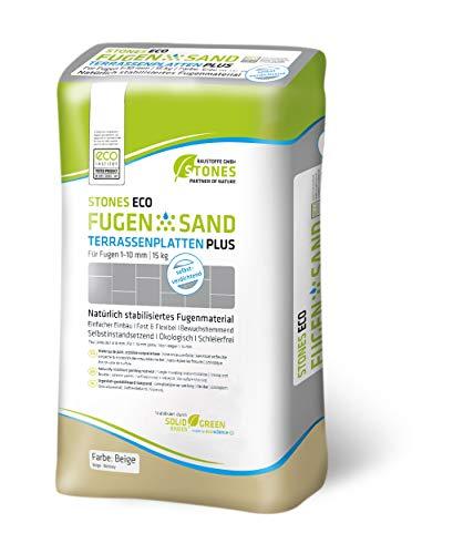 STONES ECO Fugensand 1-10 mm 15 kg/ Sack (beige)