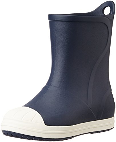 Crocs Bump It Boot Kids, Unisex - Kinder Gummistiefel, Blau (Navy/Oyster), 30/31 EU