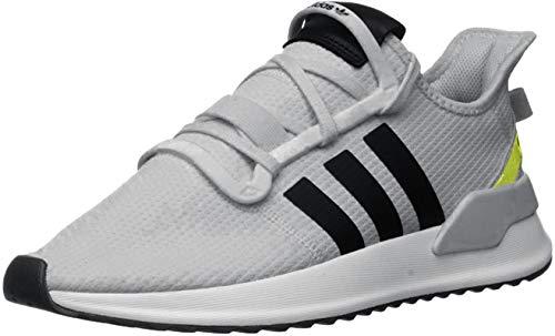 adidas Originals Men's U_Path Run Hiking Shoe, Grey/Core Black/Hi-Res Yellow, 12.5