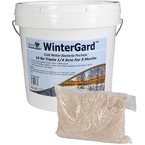 Natural Waterscapes WinterGard Cold Water Bacteria for Ponds | 10 lb Winter Pond Treatment