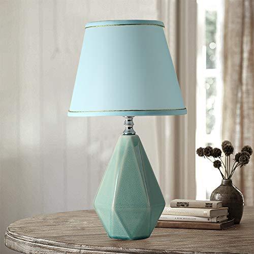 JFHGNJ tafellamp van keramiek, tafellamp voor slaapkamer, nachtkastje, werkkamer, modern, woonkamer, warm, romantisch, Ikea