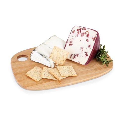 True Morsel - Tabla para queso (bambú, tamaño pequeño), Pequeño, Madera, 1