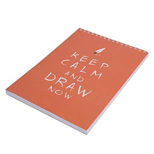 50 páginas A4 resistentes al desgarro, bloc de dibujo y cuaderno de dibujo perfecto para suministros de arte de viaje