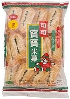 Bin Bin, Rice Crackers, Original Flavour, 150 g [Pack of 2 pieces]