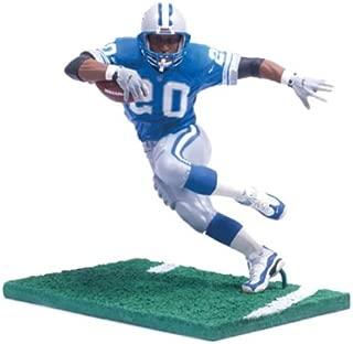 NFL Legends Figure: Barry Sanders Detroit Lions Blue Jersey