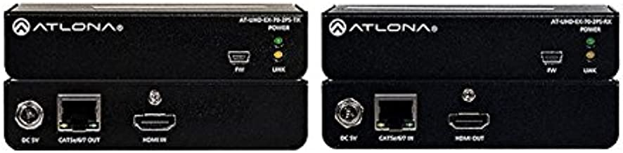 Atlona AT-UHD-EX-70-2PS 4K/UHD HDMI Over HDBaseT Tx/Rx Kit