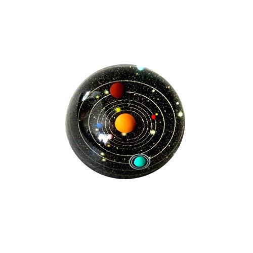 Allamp Sistema Solar Bola de Cristal hemisferio Celeste Cristal de Regalo Personalizado Home Office decoración Elegante y Hermosa