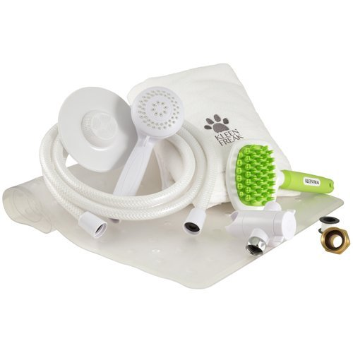 Kleen Freak Pet Shower Deluxe Bundle – Handheld...