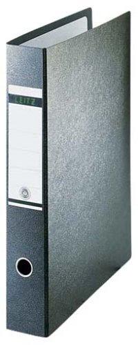 Leitz 10720000 Qualitäts-Ordner (für Sonderformate, A3 (hoch), 8 cm Rückenbreite, Hartpappe (RC)) schwarz