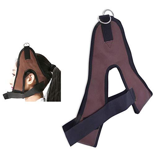 QINAIDI Capezza, Taglia Universale, Dispositivo di trazione cervicale, Imbracatura per Il Collo, Cintura per l'allungamento del Collo per Bretelle